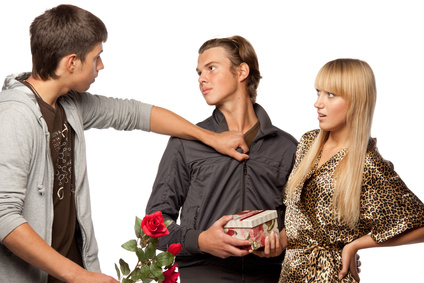 Flirter pour rendre jaloux