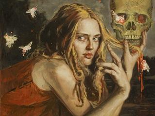 Femme fatale peinture